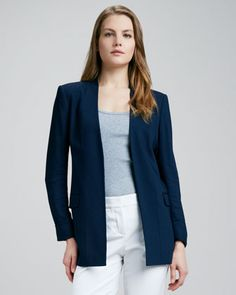 Navy Theory Blazer