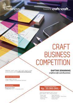 Craftincraft adalah media dengan segmentasi craft dan crafter, termasuk di dalamnya produsen, konsumen, dan supplier, juga mereka yang memiliki kecintaan pada produk craft. Craft in Craft - Expose your craft!