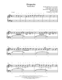 Despacito by Luis Fonsi, Daddy Yankee, Justin Bieber Piano Sheet Music Partition Piano, Hard Words, Digital Sheet Music, Daddy Yankee, Piano Sheet Music, Music Classroom, Justin Bieber, Musicals, Partitions