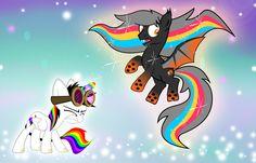 Tranzmute Gets Rainbowfied by Lightning-Bliss on DeviantArt