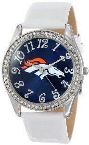 Game Time Women's NFL-GLI-DEN Glitz Classic Analog Denver Broncos Watch: Watches: Amazon.com