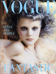 Jessica Stam by Steven Meisel Vogue Italia September 2003