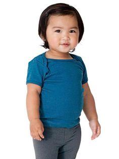 Save $6.00 on American Apparel Unisex-baby Organic Rib Short Sleeve Lap Tee; only $4.00