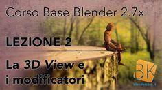 Blender 2.7x - Corso Base - Lezione 2 [ITA]