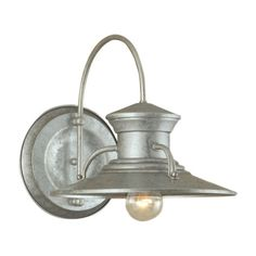 Norwell Lighting Budapest 1 Light Outdoor Wall Sconce & Reviews | Wayfair $150