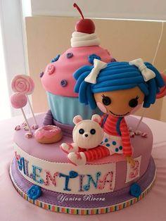 Me encanta este pastel de Lala Loopsy .. ;)