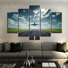 airplane wall art - Google Search                                                                                                                                                      More