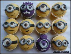 Disney Themed Cakes - Minion Cupcakes