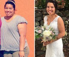 Amalia encontró la forma de bajar de peso, y ahora quiere ayudar a los demás Lace Wedding, Wedding Dresses, Fashion, Wedding Dress Lace, Bridal Gowns, Cowboy Baby, Cellulite, Fat, Beautiful Women