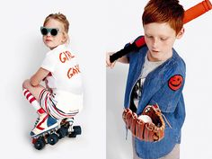 Stella McCartney Kids focuses on fun, modern and playful styles for boys and girls ranging from newborn to 14 years.