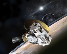 New Horizons spacecraft (artist's concept). [Credit: Johns Hopkins University Applied Physics Laboratory/Southwest Research Institute (JHUAPL/SwRI)] New Horizons is a mission to Pluto and the Kuiper Belt.