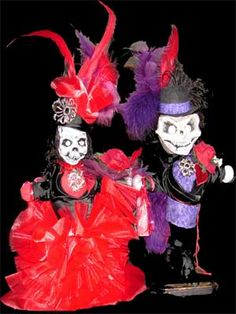 Voodoo doll cake toppers!