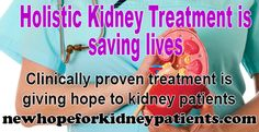 Dialysis-Free Kidney Treatment has no sides and a lot of benefits. It's already helping Kidney Patients improving their GFR and Kidney Function. This video will amaze you!  https://www.youtube.com/watch?v=F4Bt0fXMWqU