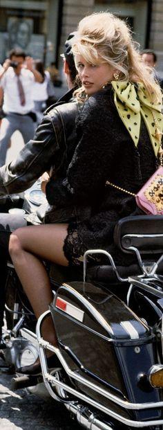 Fashion ~ Editorial Photos ✦ Claudia Schiffer 1992 ✦ from my board:  https://www.pinterest.com/sclarkjordan/fashion-~-editorial-photos/