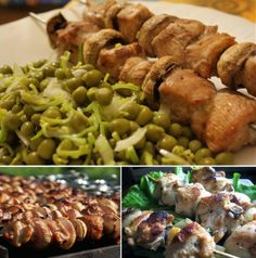 Шашлычки из куриной грудки и шампиньонов - на здоровье и для удовольствия.   Нас окружает большое количество соблазнов, связанных с мясом. Жаренные куриные крылышки, шашлык из свинины, баранины....Звучит аппетитно, но представляет собой жирную пищу с небольшим набором полезным веществ.  Другое дело, мясо куриных грудок. Барбекю и гриль в наличии и на заказ: +7 (495) 921-44-50 http://www.saga.ru/barbekyu #рецепты, #гриль, #барбекю