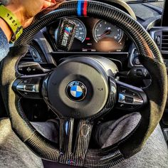 Most people find it absurd to upgrade a steering wheel, but when I saw this I had no choice but to put in my order‼️ These are custom handmade Carbon Fiber steering wheels with alcantara, can't wait to receive it‼️ #SpeedAddict #M6 #PetrolHead #CarPorn #CarNut