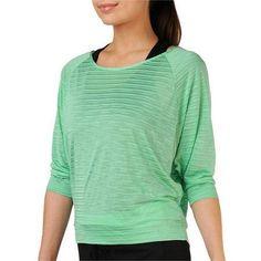 Danskin Now Studio Women's Dolman T-Shirt, Size: Medium, Green