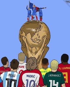 Trending Photo de Cristiano Ronaldo : Fifa world cup 2018 Football Is Life, Football Art, Football Memes, Fifa Football, Fifa World Cup 2018, World Cup Russia 2018, Antoine Griezmann, Neymar, Messi