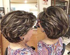Top Stylish Haircuts In For Th Stylish - Hair Beauty Short Layered Haircuts, Short Bob Hairstyles, Hairstyles Haircuts, Cool Hairstyles, Asian Short Hair, Short Curly Hair, Short Hair With Layers, Short Hair Cuts For Women, Medium Hair Styles