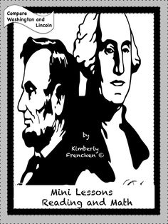 Teach your students comparison skills in addition to other reading strategies. This resource would be great with the other Lincoln and Washington resources available at Chocolate 4 Teachers!