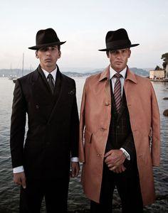 Borsalino - The Rake Magazine - photographer Derrick Santini - I like that tailored Italian look