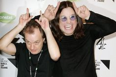 Ozzy Osbourne e Angus Young