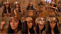 The Mummy Returns - Anck Su Namun Patricia Velasquez. Another beautiful Latina. Mummy Movie, Egyptian Costume, Egyptian Makeup, Princess Alice, Egyptian Goddess, Classic Monsters, Fantasy Movies, Female Stars, Movie Costumes