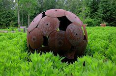 Rust Disk Ball