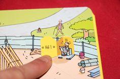 Usborne , livre pop up « les chantiers