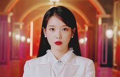Animated gif about kpop in IU 🌹 by Bbibbi ♡ on We Heart It Lovely Girl Image, Girls Image, Iu Moon Lovers, Hyuna Red, Iu Gif, Luna Fashion, Drama Gif, Fandom, Aesthetic Gif