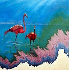 1000+ images about ebru on Pinterest | Water Marbling, Turkish Art ...
