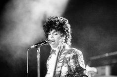 Rock singer Prince performs at the Orange Bowl during his Purple Rain......