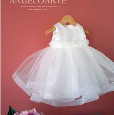 Quality 2015 White chiffon christening gown newborn baby girls wedding vestido baptism batizado robe 1 year birthday dresses with free worldwide shipping on AliExpress Mobile Frocks For Girls, Dresses Kids Girl, Little Dresses, Flower Girl Dresses, Baby Girl Fall Outfits, Cute Girl Outfits, Smocked Baby Clothes, Cute Baby Clothes, Baptism Dress