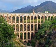Roman Aqueduct, Nerja, Spain