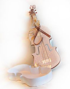 This is a digital download for use with electronic cutting machines, This is a cute violin box. the main violin measures 9 long x 2 high x 6 wide  The