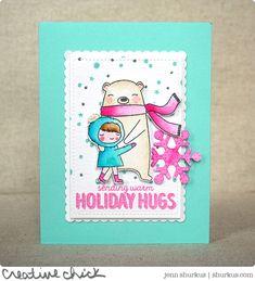 Sending Holiday Hugs, Wplus9 | shurkus.com