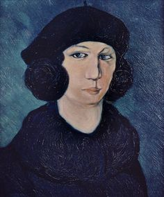 Picasso: Femme en bleu au béret