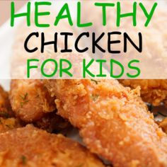 4 Ingredients Kids: Sweet Chicken Fingers Recipe + Veggie Ribbon Pasta