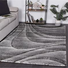 High quality modern machine made rugs Modern Rugs, Modern Contemporary, Moroccan Design, Machine Made Rugs, Lilac Color, Round Rugs, Weaving Techniques, Nordic Style, Living Room Modern