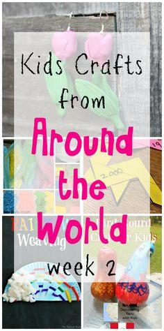 Kids Crafts from Around the World – Week 2