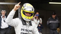 Monaco GP: Rosberg on pole for Mercedes after rainy qualifying session