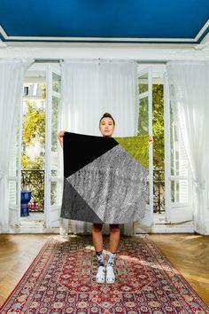 silk scarf by marlenehuissoud found on Etsy, $169.00