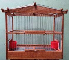 jaula de madera 36x22x30 cm