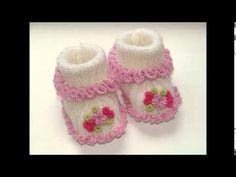 zapatitos para bebe recién nacido en crochet