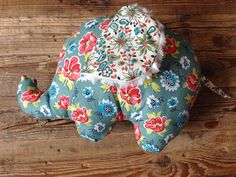 Baby Elephant Plush Toy by sticksandfuzzies on Etsy, $18.00