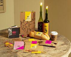 Mica Bar & Bistro by Elle Apopei, via Behance. Simple #packaging #branding #marketing PD