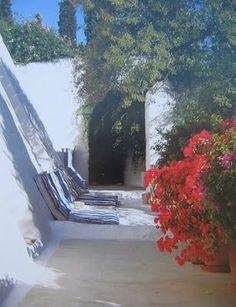 Patmos house of interior designer John Stefanidis from the book 'An Island Sanctuary' | Fritz von der Schulenburg