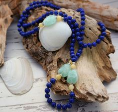 Lapis Lazuli statement necklace / Chunky by AncientSunDesigns