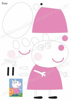Cecilia ... I am her, without her'm not ...: Upon request - Moulds Peppa Pig and the gang