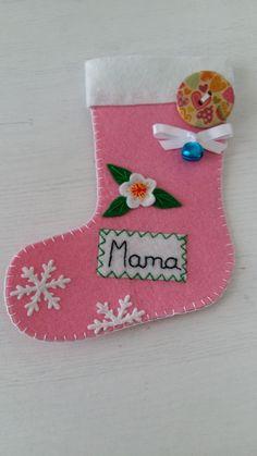 calcetín navidad mama
